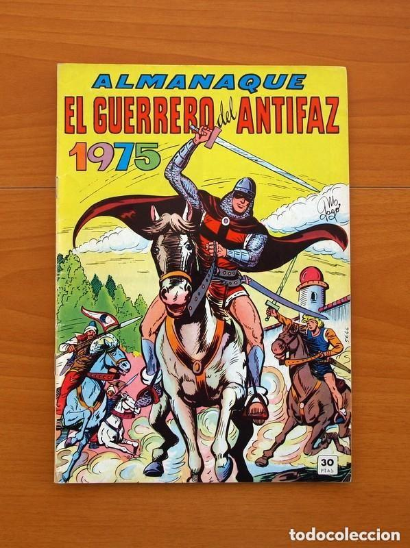 Tebeos: Almanaques, El Guerrero del Antifaz - Completa - 37 ejemplares - Leer dentro y ver fotos adicionales - Foto 52 - 132788454