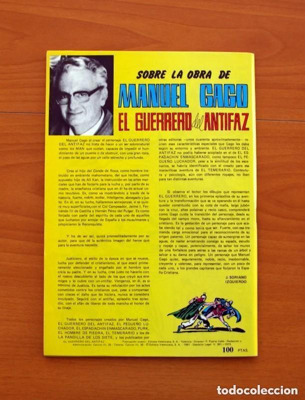 Tebeos: Almanaques, El Guerrero del Antifaz - Completa - 37 ejemplares - Leer dentro y ver fotos adicionales - Foto 75 - 132788454