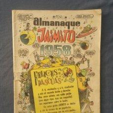 Tebeos: ALMANAQUE DE JAIMITO 1958. Lote 133310162