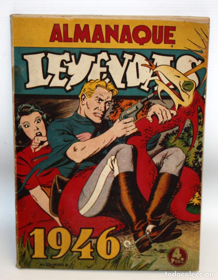 ALMANAQUE LEYENDAS (1946). HISPANO AMERICANA (Tebeos y Comics - Tebeos Almanaques)
