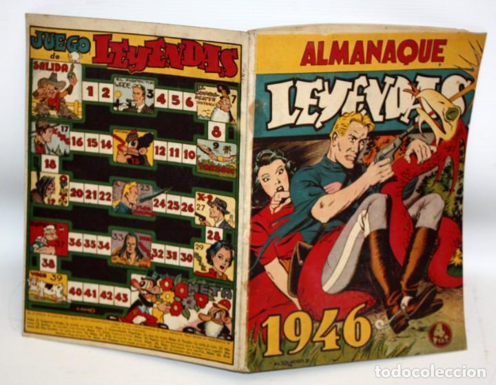 Tebeos: ALMANAQUE LEYENDAS (1946). HISPANO AMERICANA - Foto 3 - 134004622