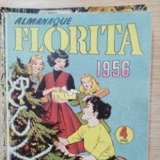 Tebeos: FLORITA - ALMANAQUE 1956. Lote 135715579