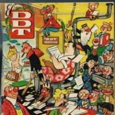 Livros de Banda Desenhada: ALMANAQUE DDT PARA 1954 - BRUGUERA 1953 ORIGINAL - BIEN, PERO PROCEDE DE ENCUADERNACION. Lote 147979628