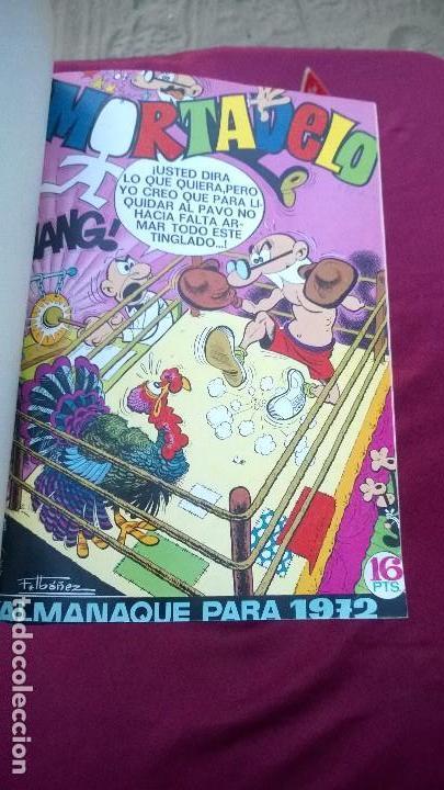 Tebeos: 13 tomos de Mortadelo años 1970-1973(EXCLUSIVO) - Foto 5 - 143134241