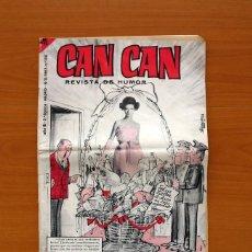 Tebeos: CAN CAN - ALMANAQUE 1966 - EDITORIAL BRUGUERA. Lote 138544890