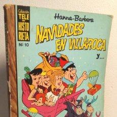 Livros de Banda Desenhada: NAVIDADES EN VILLAROCA *** COLECCIÓN TELEHISTORIETA NÚMERO 10 *** ALMANAQUE 1970. Lote 138966906