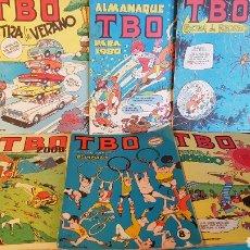 Tebeos: LOTE TBO EXTRAS DE VERANO 1969 ALMANAQUE 1980 OLIMPIADAS Y OTROS. Lote 139009486