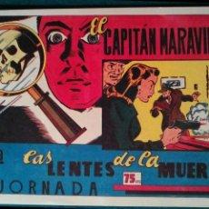 Giornalini: EL CAPITÁN MARAVILLAS, ORIGINAL DE LA EDITORIAL VALENCIANA, EN PERFECTO ESTADO. Lote 139629522