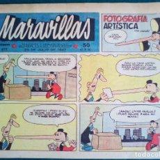 BDs: MARAVILLAS Nº 411 DE 1947. Lote 140031830