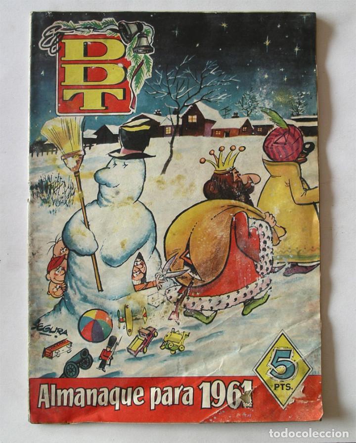 DDT ALMANAQUE AÑO 1961 EDITORIAL BRUGUERA (Tebeos y Comics - Tebeos Almanaques)