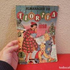 Tebeos: TEBEO COMIC ANTIGUO ALMANAQUE FLORITA 1958 EDICIONES CLIPER. Lote 140320202