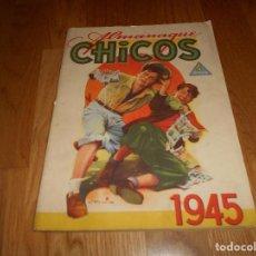 Tebeos: PRECIOSO ALMANAQUE CHICOS - TALLERES OFFSET - SAN SEBASTIAN - AÑO 1945 PERFECTO. Lote 141574110