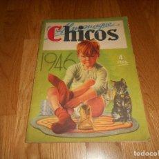 Livros de Banda Desenhada: CHICOS ALMANAQUE AÑO 1946 EDICIONES CID ESPECIAL PERFECTO. Lote 141574426