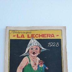 Tebeos: ALMANAQUE LA LECHERA 1928. NESTLE CONTIENE PUBLICIDAD. NO HA SIDO USADO. Lote 142506450
