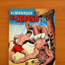 Tebeos: EL COLOSO - ALMANAQUE 1963 - EDITORIAL VALENCIANA. Lote 146408942