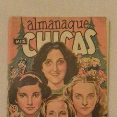 Tebeos: ALMANAQUE MIS CHICAS 1950 CON RECORTABLES. Lote 146766242