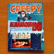 Tebeos: CREEPY - ALMANAQUE PARA 1981 - TOUTAIN EDITOR. Lote 147466138