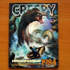 Tebeos: CREEPY - ALMANAQUE PARA 1984 - TOUTAIN EDITOR. Lote 147506002