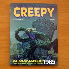 Tebeos: CREEPY - ALMANAQUE PARA 1985 - TOUTAIN EDITOR. Lote 147507570