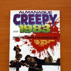 Tebeos: CREEPY - ALMANAQUE PARA 1983 - TOUTAIN EDITOR. Lote 147508026