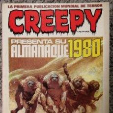 Tebeos: CÓMIC CREEPY ALMANAQUE 1980. Lote 147529009