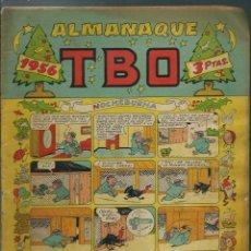 Tebeos: ALMANAQUE TBO 1956 - ORIGINAL - CON BELEN DE OPISSO SIN RECORTAR EN CUBIERTA POSTERIOR. Lote 147737458