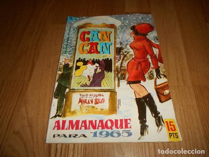 ALMANAQUE CAN CAN DEL AÑO 1965 MUY BUEN ESTADO (Tebeos y Comics - Tebeos Almanaques)