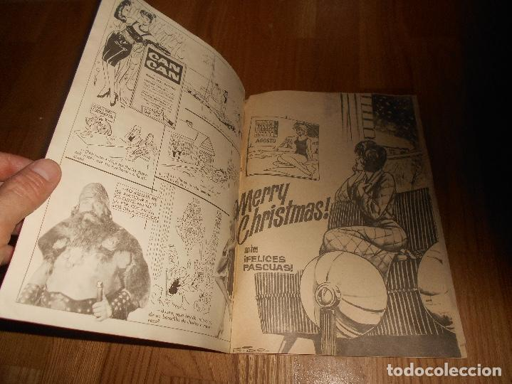 Tebeos: ALMANAQUE CAN CAN DEL AÑO 1965 MUY BUEN ESTADO - Foto 2 - 150978802