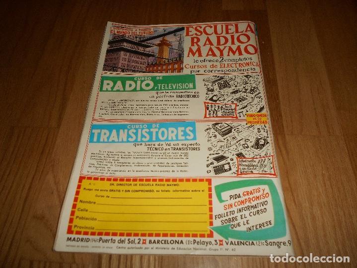 Tebeos: ALMANAQUE CAN CAN DEL AÑO 1965 MUY BUEN ESTADO - Foto 7 - 150978802