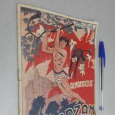 Tebeos: ALMANAQUE TARZÁN / EDITORIAL ALAS AÑOS 40. Lote 151221914