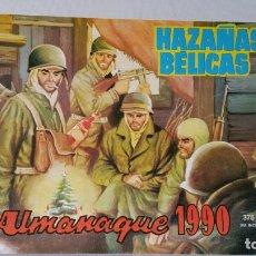 Tebeos: ALMANAQUE HAZAÑAS BELICAS 1990 - TORAY. Lote 152300142