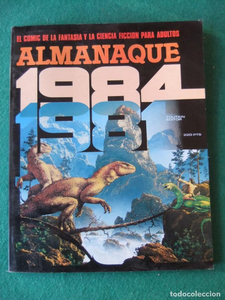 ALMANAQUE 1984 PARA 1981 TOUTAIN EDITOR (Tebeos y Comics - Tebeos Almanaques)