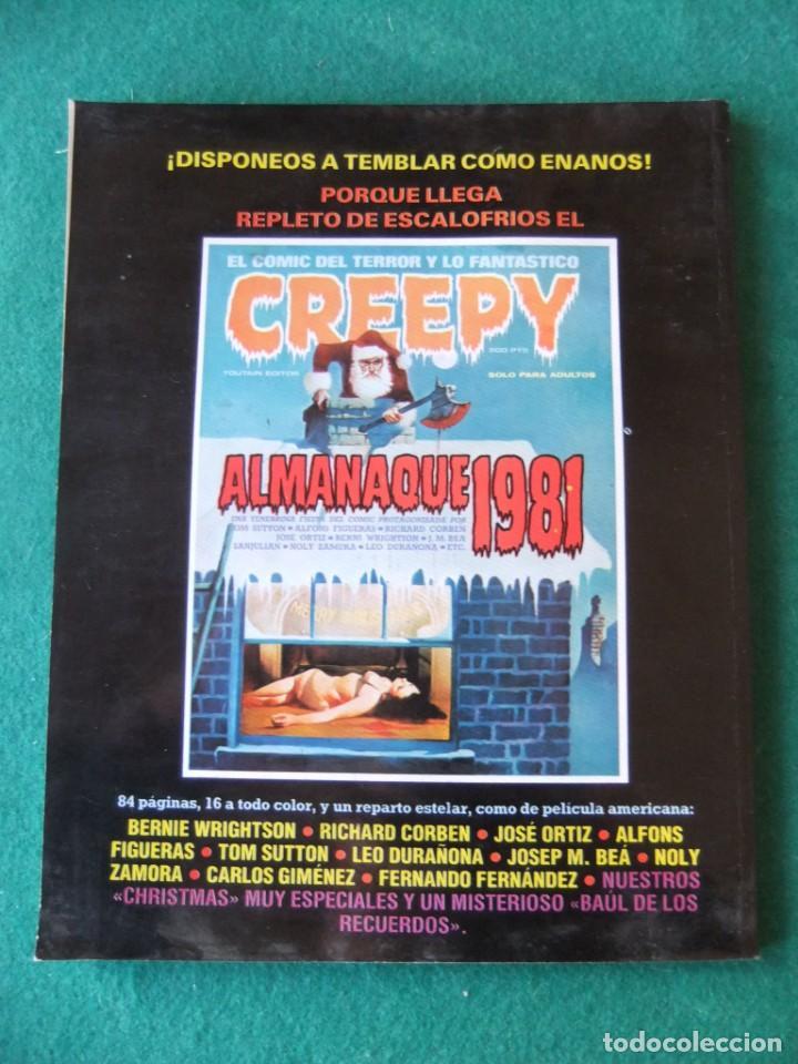 Tebeos: ALMANAQUE 1984 PARA 1981 TOUTAIN EDITOR - Foto 2 - 152866486