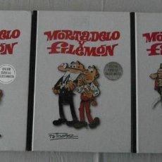 Tebeos: MORTADELO Y FILEMON. TOMOS I, II Y III. EDICION ESPECIAL COLECCIONISTA. RBA. . Lote 156798866