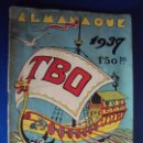 Tebeos: (COM-190200) TBO 1937 - ALMANAQUE. Lote 153166814