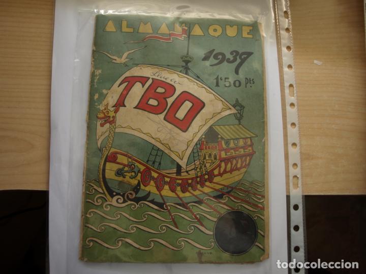 TBO - ALMANAQUE PARA 1939 - ORIGINAL - (Tebeos y Comics - Tebeos Almanaques)