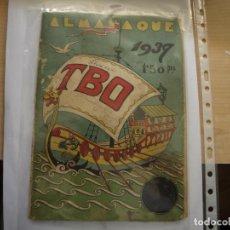 Tebeos: TBO - ALMANAQUE PARA 1939 - ORIGINAL - . Lote 154493734