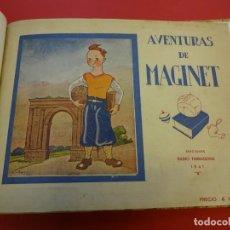 Tebeos: AVENTURAS DE MAGINET. AÑO 1941. EDICIÓN LUJOSAMENTE ENCUADERNADA. Lote 154651042