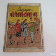 Livros de Banda Desenhada: ALMANAQUE ATALAYA 1947 - 96 PAGINAS - COMO SE VE EN FOTO. Lote 154857322