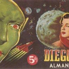 Tebeos: DIEGO VALOR - ALMANAQUE 2055 - 1ª SERIE. Lote 155402922