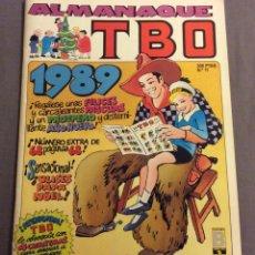 Tebeos: ALMANAQUE TBO N- 11. 1989. Lote 155512838