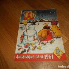 Tebeos: EL DDT. ALMANAQUE 1961. BRUGUERA. Lote 155815922