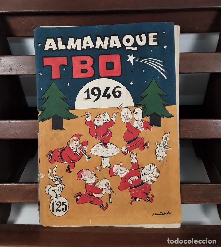 ALMANAQUE TBO 1946. MUNTAÑOLA. BARCELONA. (Tebeos y Comics - Tebeos Almanaques)