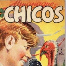 Tebeos: CHICOS. ALMANAQUE 1949. Lote 159775250