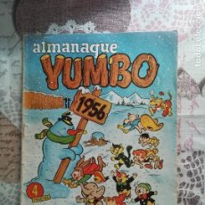 Tebeos: YUMBO ALMANAQUE 1956. Lote 161493994