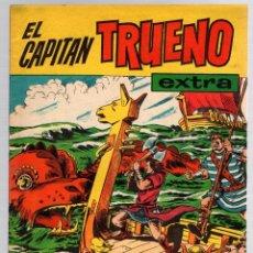 Tebeos: EL CAPITAN TRUENO EXTRA ALMANAQUE PARA 1961. ORIGINAL. BRUGUERA. Lote 162914288