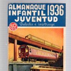 Tebeos: ALMANAQUE INFANTIL JUVENTUD 1936. ORIGINAL, 50 CTS.. Lote 162917525