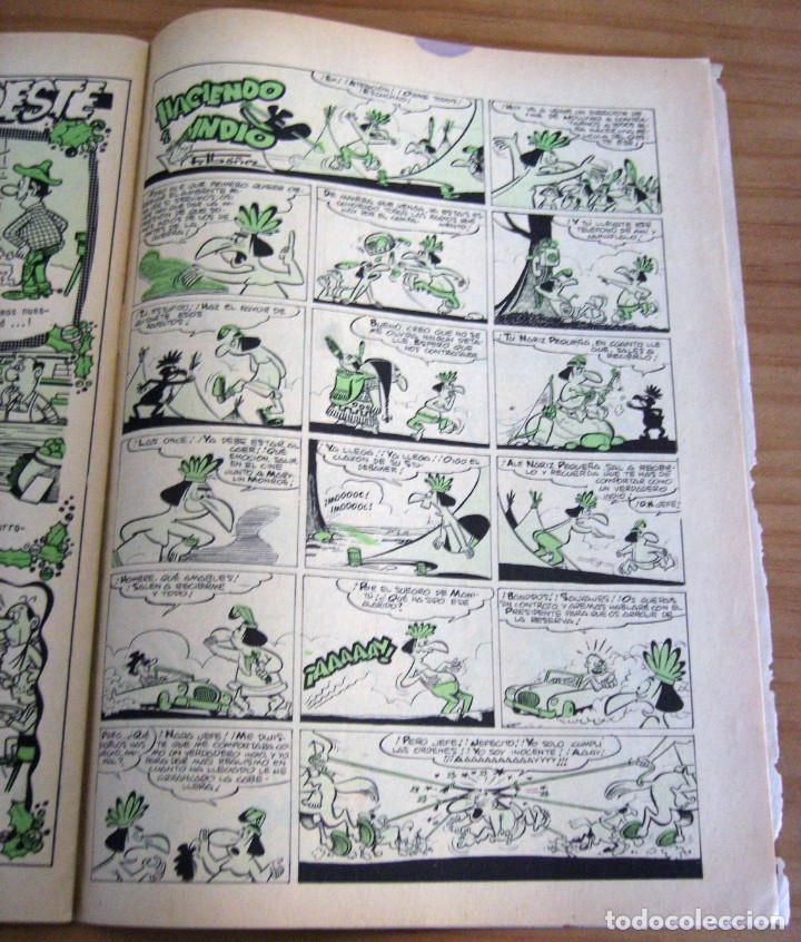 Tebeos: LA RISA - NÚMERO 73: ALMANAQUE 1966 - AÑO 1965 - Foto 11 - 131995234