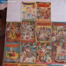 Tebeos: PULGARCITO ALMANAQUES - 1949,1950,1951,1952,1953,1954,1955,1956,1957,1958,1959 - EXTRA VACACIONES -. Lote 163619374