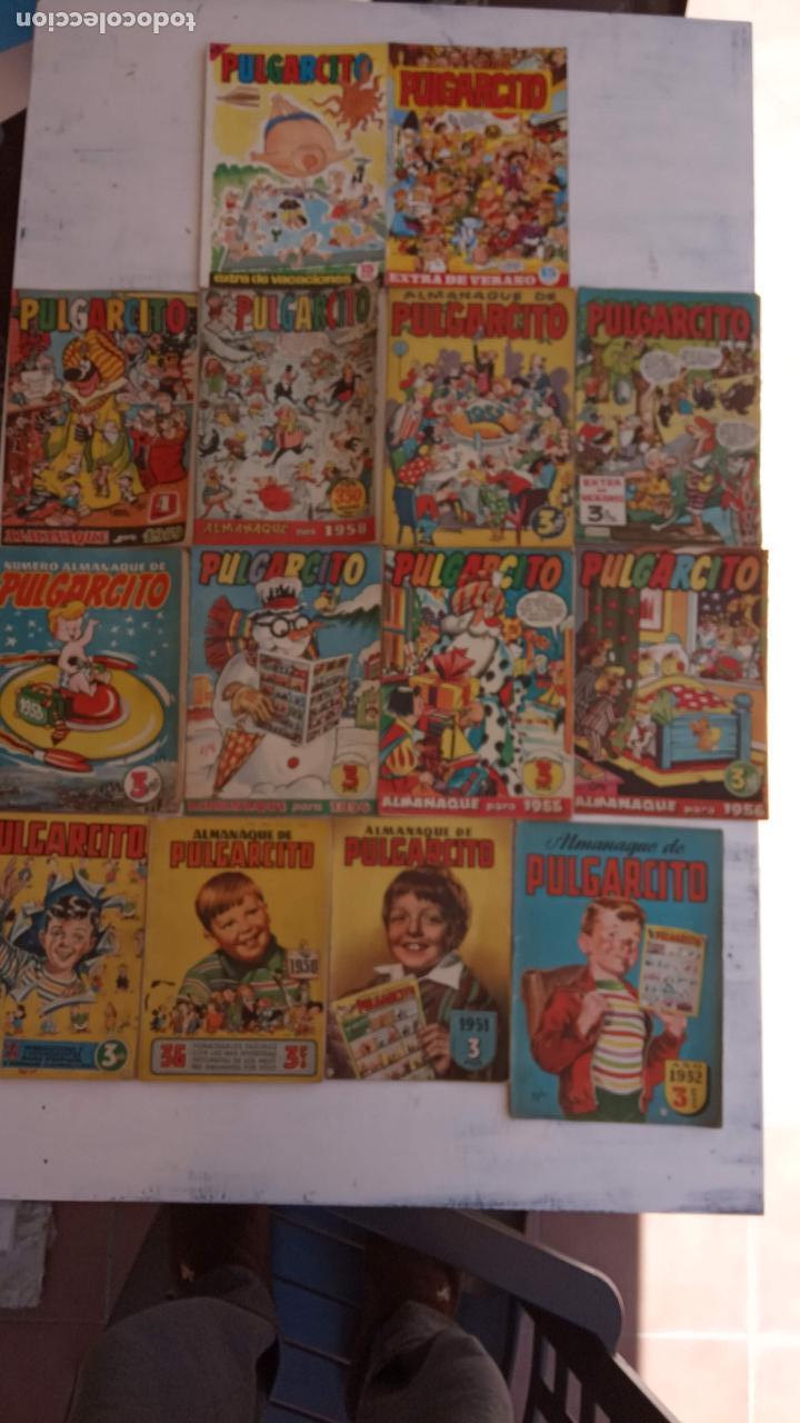 Tebeos: PULGARCITO ALMANAQUES - 1949,1950,1951,1952,1953,1954,1955,1956,1957,1958,1959 - EXTRA VACACIONES - - Foto 3 - 163619374